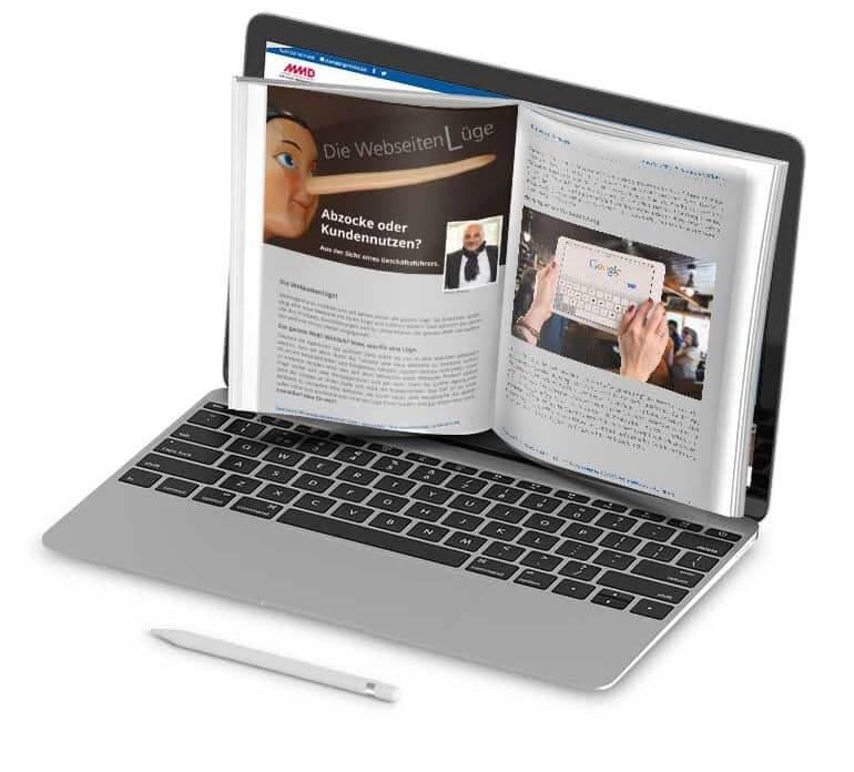 E-Book Abbildung Die Webseitenlüge